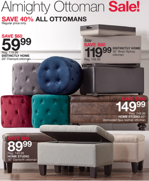 Almight Ottoman Sale