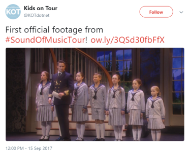 Sound of Music Captain and Kids