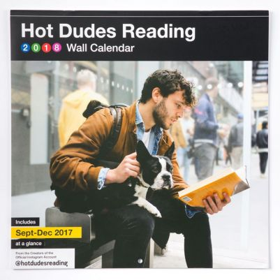 Hot Dudes Reading calendar