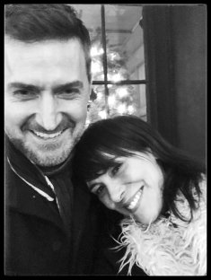 Richard Armitage & Michelle Forbes December 2017