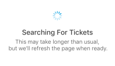 Searching for Tickets