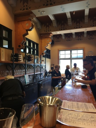 tasting room at burrowing owl