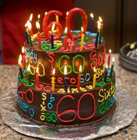 60th-Birthday-Cake